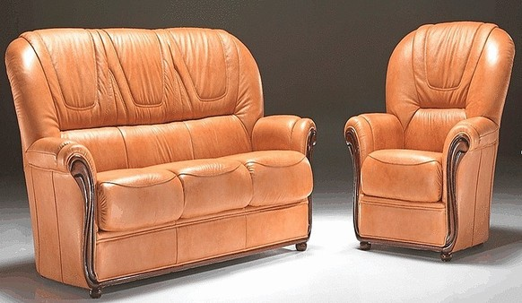 Paulo Genuine Italian Leather Sofa Suite Offer