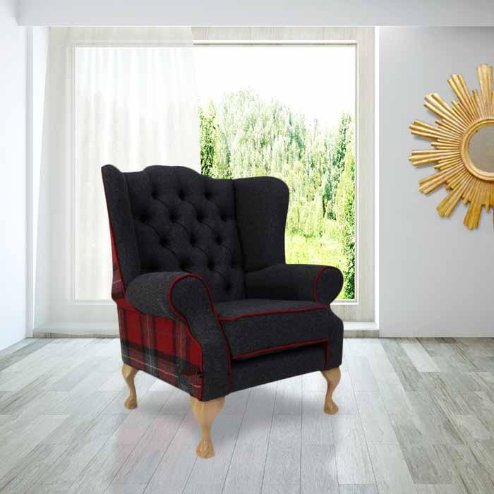 High Back Armchair, High Back Wing Sofa