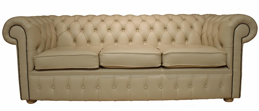 Chesterfield Sofa Cream