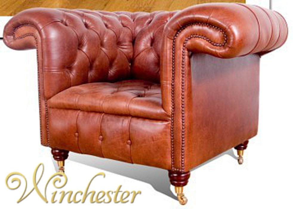 Chesterfield Regency Leather Sofa Uk Manufactured