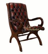 Chesterfield York Slipper Chair